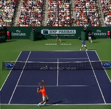 Djokovic e Federer, foto Afp