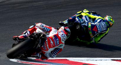 "MotoGP a Spielberg, Rossi: ""Le Ducati sono favorite"""