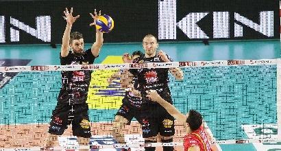 Volley, SuperLega: Civitanova imbattibile, anche Trento si inchina