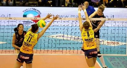 Volley, Champions: Conegliano ko