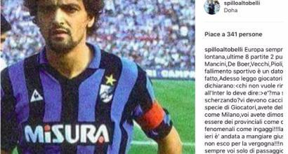 """Inter, Altobelli attacca: """"Vergogna, vi devono cacciare"""""""