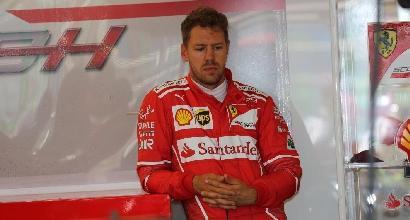 """F1, Vettel: """"Soddisfatto della vettura"""""""