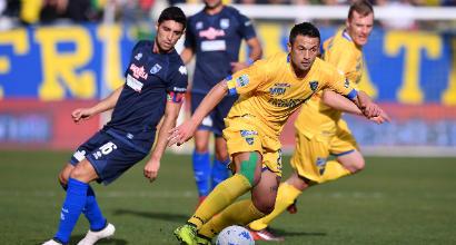 Serie B, Frosinone: è fuga in vetta, battuto Zeman