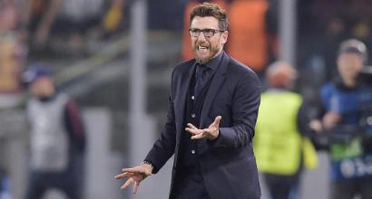 """Roma, Di Francesco punta in alto: """"Ora continuiamo a sognare"""""""