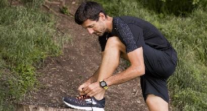 Il triatleta Giulio Molinari testa le Glycerin 16