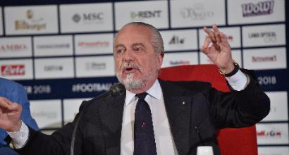 """Napoli, De Laurentiis: """"Hamsik da lunedì costa 40 mln. Sarri a Londra? E chi lo dice? Ruiz è nostro"""""""