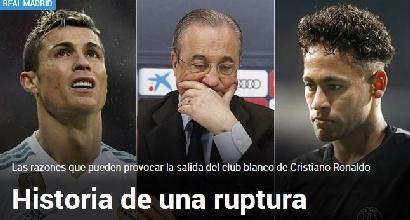 Ronaldo 'grato al Real se lo lascerà andare' - Ultima Ora