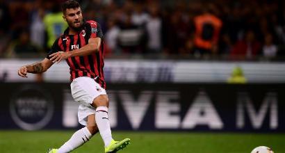 Milan, distorsione alla caviglia per Cutrone: salta il Cagliari