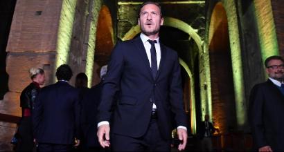 """Roma, Totti: """"Scenderei ancora in campo, come tutti i romanisti"""""""