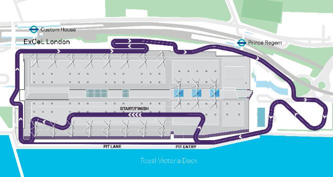 La Formula E torna a Londra e correrà al coperto