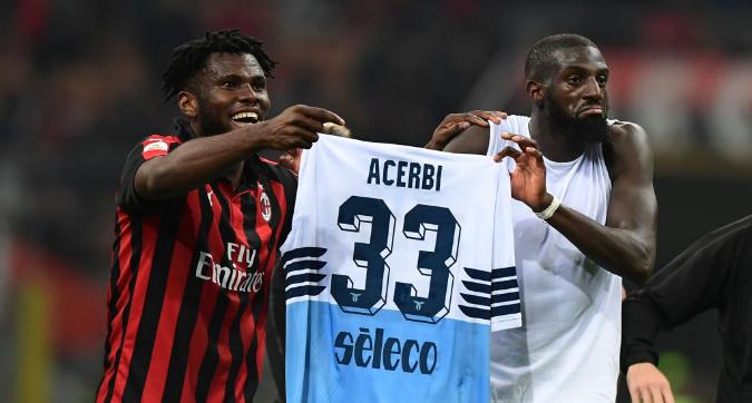 Milan-Lazio, caso Acerbi: prova tv per Bakayoko e Kessie