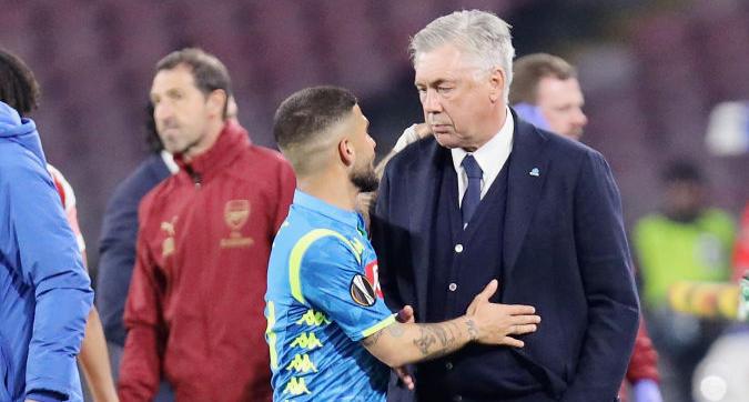 """Napoli, papà Insigne: """"Mai inveito contro Ancelotti, Lorenzo è felice qui"""""""