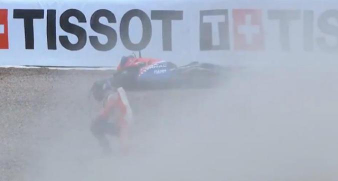 MotoGP Germania, spavento per Bagnaia: in ospedale per accertamenti, è stato dichiarato