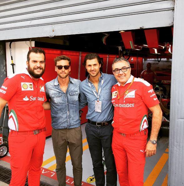 GP Monza, quanti vip!