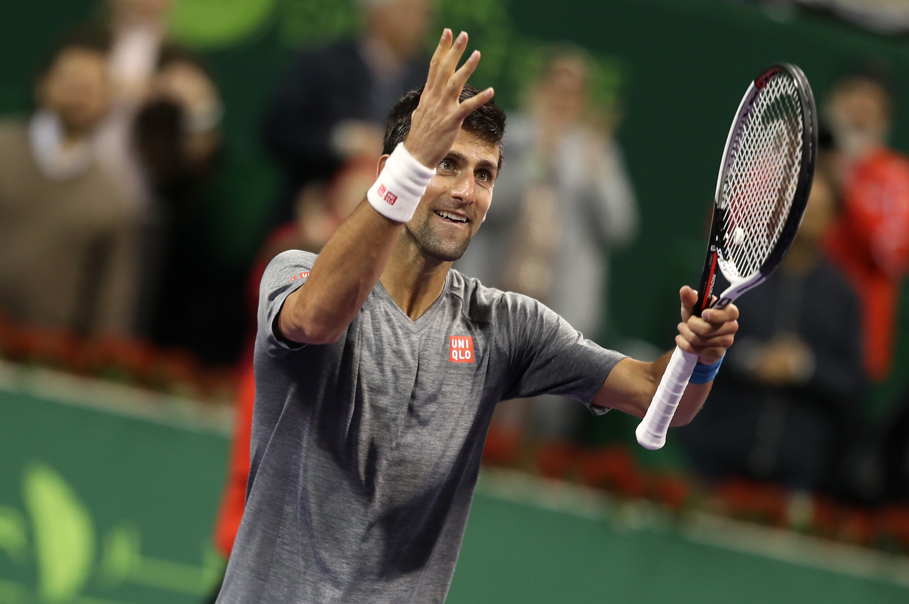 Djokovic in trionfo a Doha