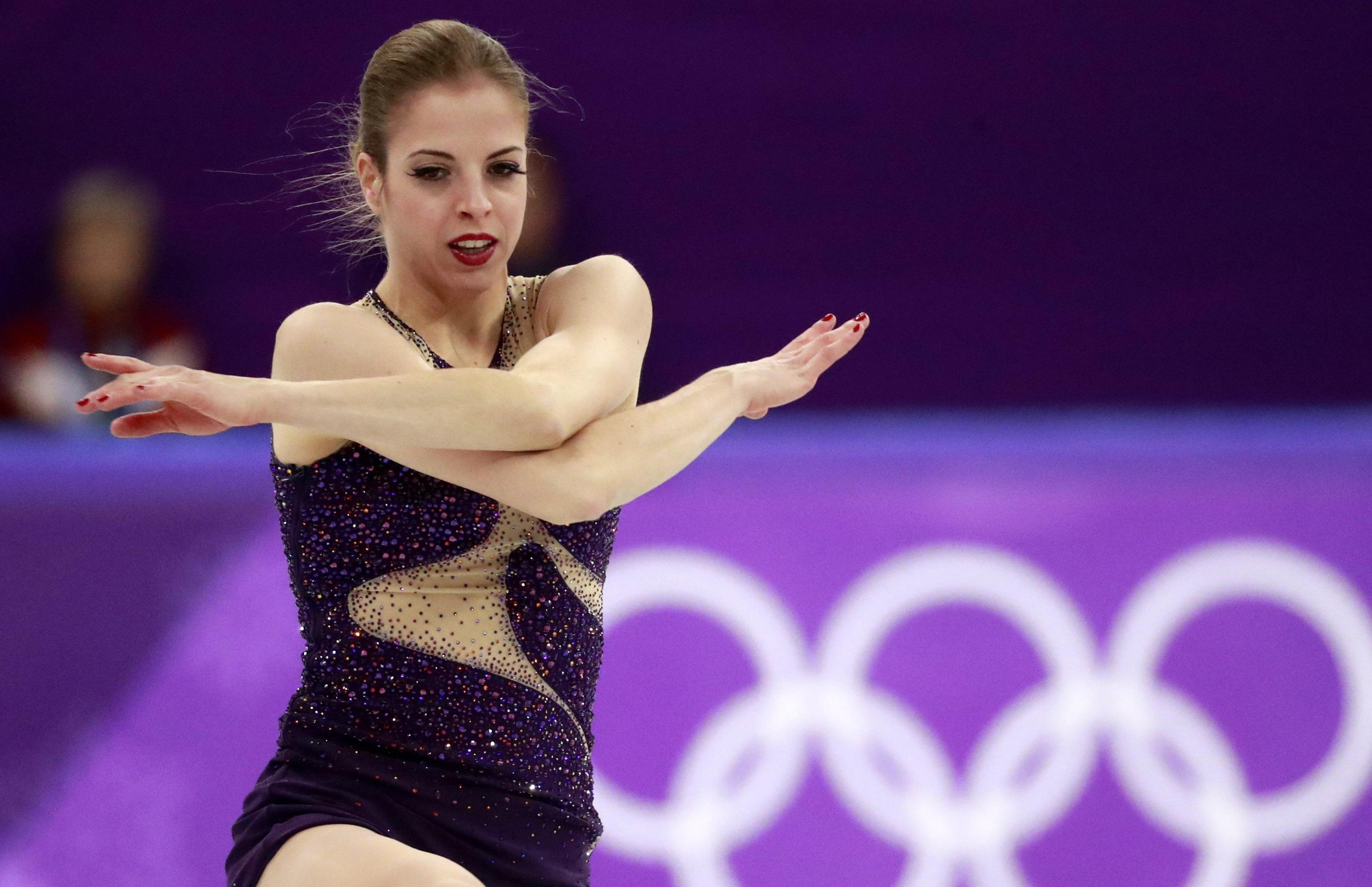 Carolina Kostner, un emozionante quinto posto