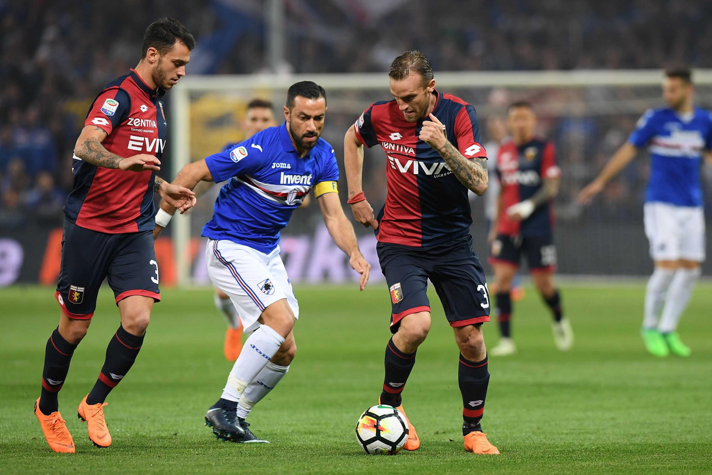 Serie A, Sampdoria-Genoa 0-0: senza reti il derby della Lanterna