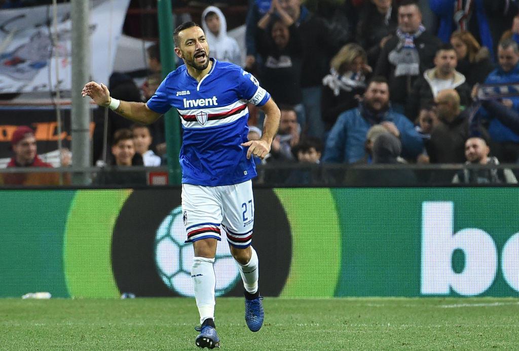 2016: dopo l'esperienza del 2006, Quagliarella torna alla Sampdoria dal Torino e oggi è il bomber dei blucerchiati