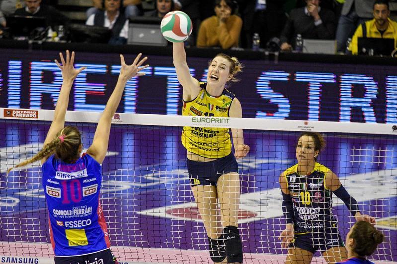 Volley A1 donne: chiusa sul 3-0 la serie con Novara