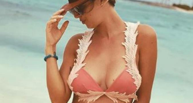 Roberta Sinopoli, vacanza a Ibiza