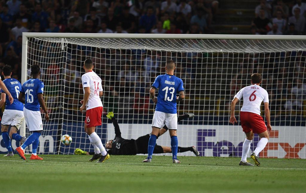 Europeo U21, le foto di Italia-Polonia