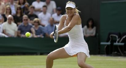 La Sharapova a Wimbledon (LaPresse)