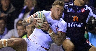 Rugby: Joshua Charnley si è tatuato una testa d'ariete sulla pancia