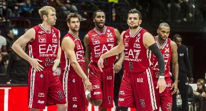Basket, Serie A: Milano non si ferma, Bologna stesa