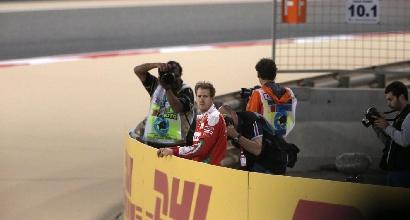 """Ferrari, Vettel: """"Frustrante non poter correre"""""""