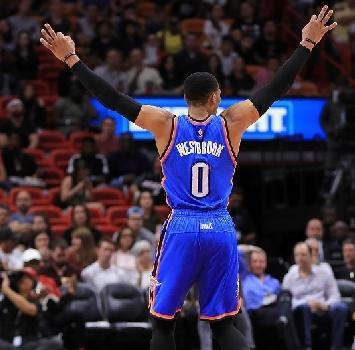NBA: Westbrook e Harden di un altro pianeta