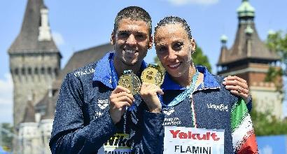 Nuoto sincronizzato, Mondiali Budapest: Italia d'oro nel duo misto tecnico