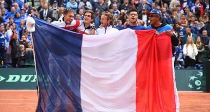 Coppa Davis, la finale è tra Francia e Belgio