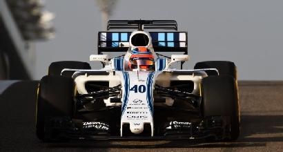 F1, test di Abu Dhabi: Raikkonen il più veloce, riecco Kubica