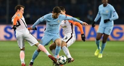 Champions League, il Manchester City va al minimo: Shakhtar agli ottavi