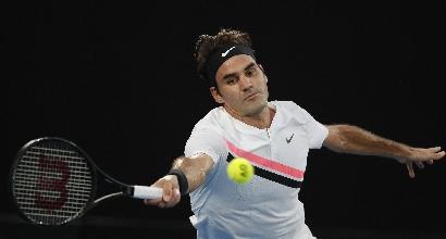 Melbourne, Federer in semifinale