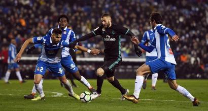 Liga: Real ko con l'Espanyol