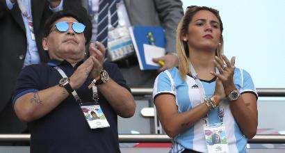 Diego Maradona sposa Rocio Oliva