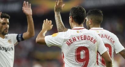 Liga: il Barça frena, Siviglia a valanga col Levante