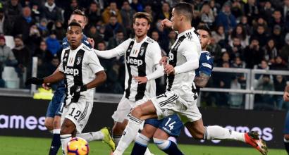 Juventus, CR7 segna ed è capocannoniere: l'esultanza è per Georgina