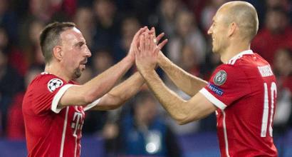 """Bayern Monaco, finisce un'era: """"Robben-Ribery via a fine stagione"""""""