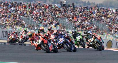 Superbike: la terza gara sarà di 10 giri, punti dal 1° al 9° classificato