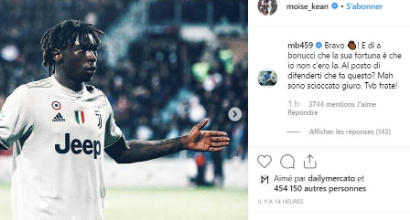 Bonucci critica Kean per l'esultanza, ma in Juve-Milan fece questo gesto