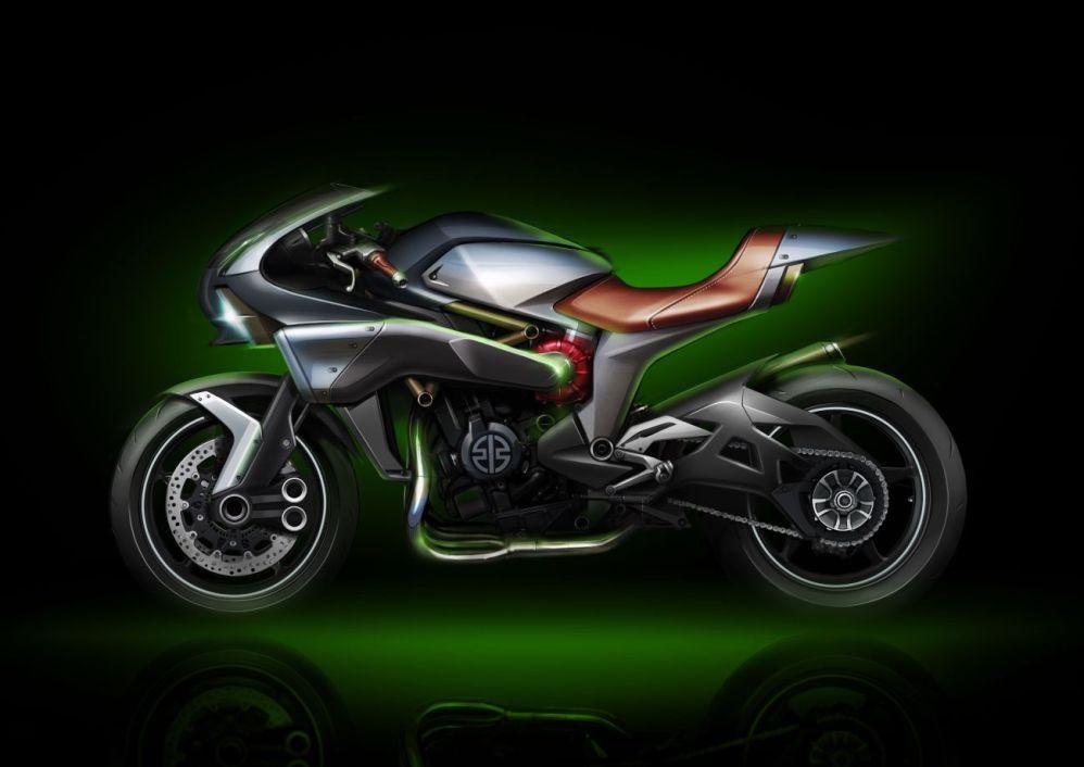 Ecco le Kawasaki del futuro