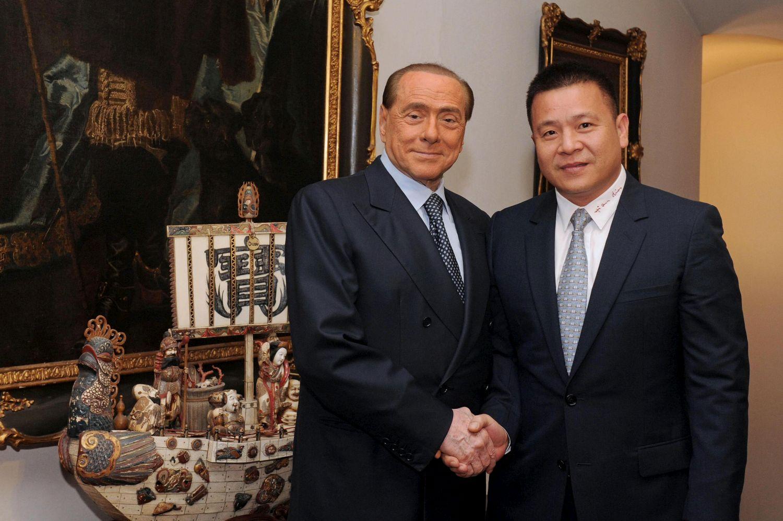 Milan, passaggio di consegne tra Berlusconi e Mr. Li