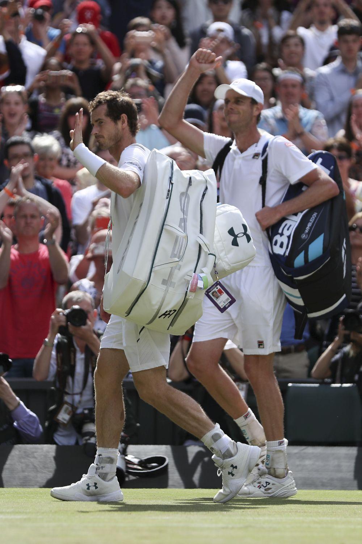 Clamoroso a Wimbledon: fuori Andy Murray