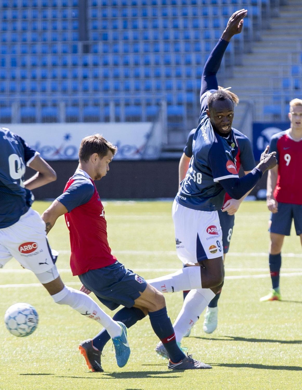 Bolt, esordio amaro con lo Strømsgodset