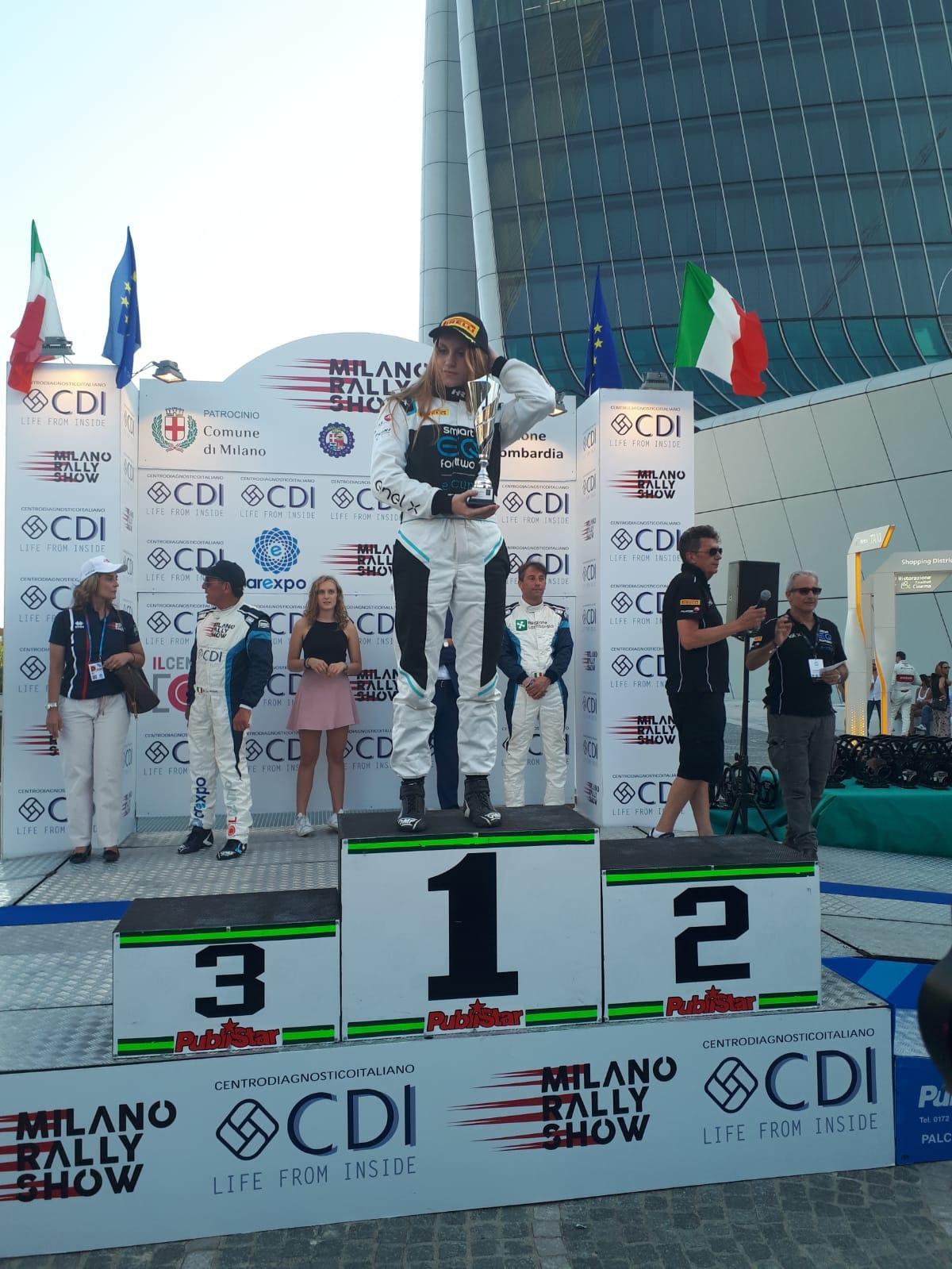 Milano Rally Show: la premiazione