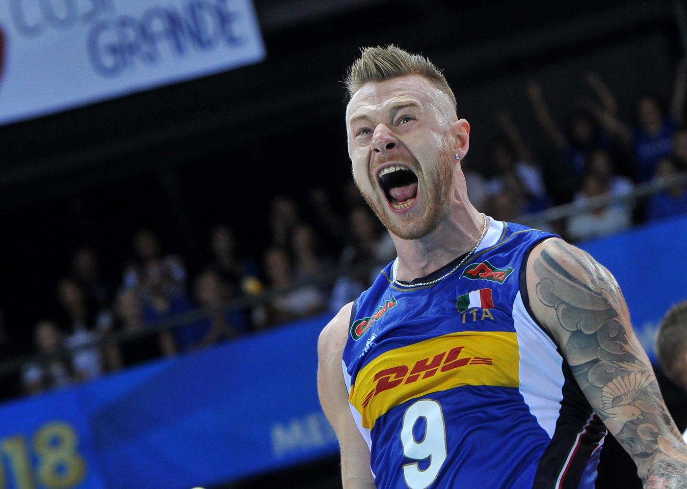 Mondiali di volley, Italia-Belgio 3-0: le foto