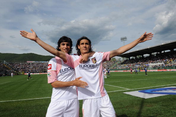 2007: il Palermo acquista Cavani dal Danubio, l'uruguaiano si affermerà alla grande in Serie A