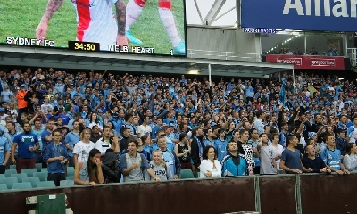 I tifosi del Sydney, foto Facebook
